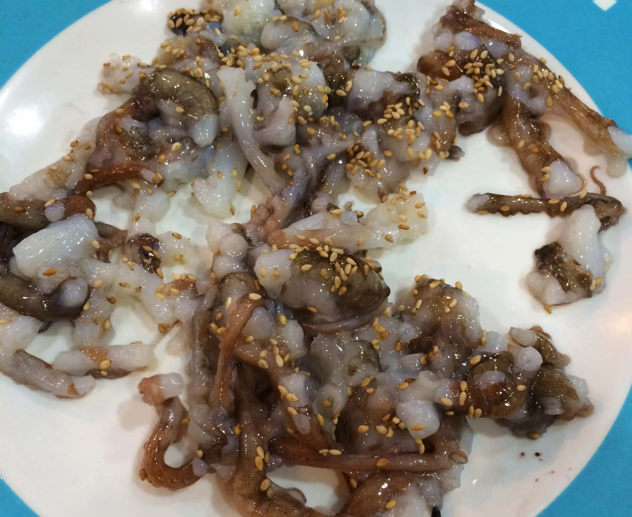 Eating Sannakji In Seoul A Live Octopus